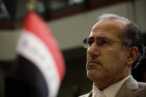 Iraqi National Security Advisor Mowaffak al-Rubaie in May 2007.