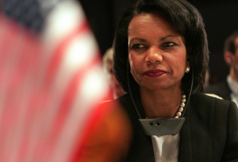 Sharm El-Sheikh, EGYPT: US Secretary of State Condoleezza Rice attends the opening of an international conference on Iraq, 03 May 2007 in the Red Sea resort of Sharm el-Sheikh.
