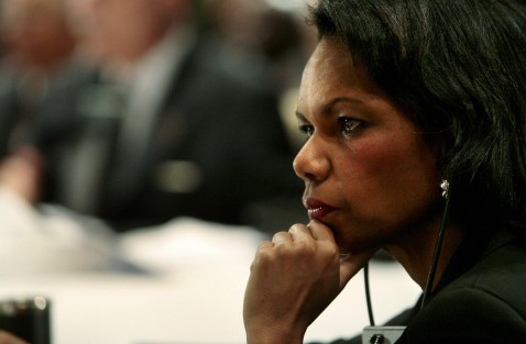 Sharm El-Sheikh, EGYPT: US Secretary of State Condoleezza Rice attends the second day of an international conference on Iraq, 04 May 2007 in the Red Sea resort of Sharm el-Sheikh.