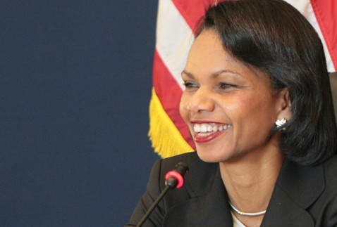 humor Condoleezza Rice Smiling