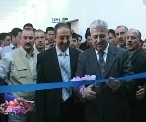 Al-Hadba Leader Atheel al-Najafi Presides Over an Exhibition of Graduate Student Projects at Mosul Technical College