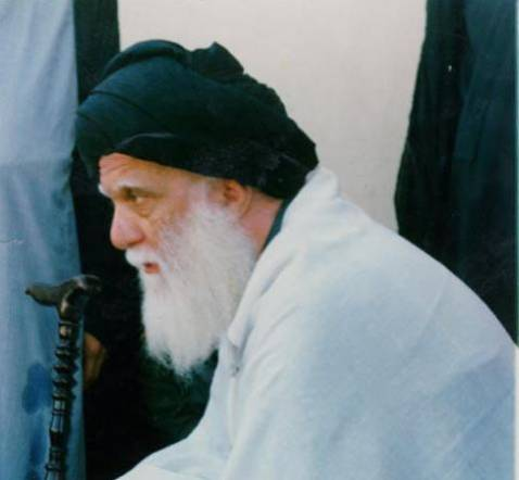 Muhammad Sadiq al-Sadr, father of Muqtada al-Sadr. Undated photo.