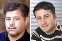 A combination photo shows driver Saeed Chmagh (L) and photographer Namir Noor-Eldeen who worked for Reuters in Iraq.