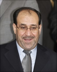 Nuri al-Maliki in Japan on April 10.