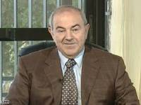 Ayad Allawi appearing on CNN today.
