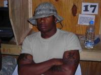 Spc. Ray Price, aka rapper Six Synce