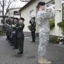 Memorial Service at Germany base