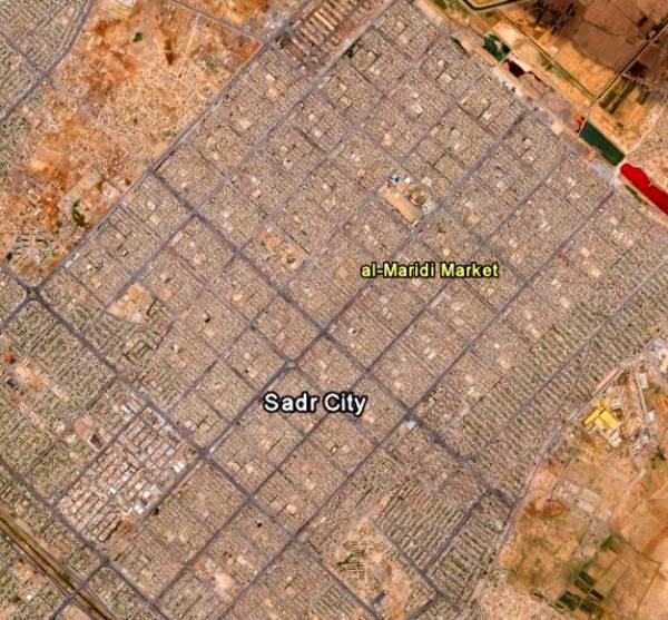 """DOMINGO, 4 DE ABRIL DE 2004 (1º PARTE) -EL LADO NORTEAMERICANO- EL """"BLACK SUNDAY"""" Al_Maridi_Market"""